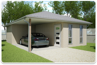 Designs & Packages - 1 Bedroom Granny Flat